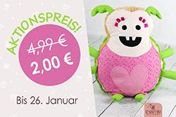 Käferkissen Hildegard zum Dschungelcamp-Sonderpreis von 2 EUR