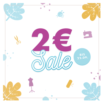 2 EUR Sale bei Makerist!