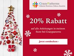 20% Rabatt auf alles im CrazyPatterns Store von shesmile