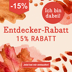 -15% DaWanda Entdecker-Rabatt shesmile im Herbst