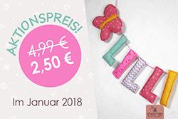 Buchstaben und Formen Letterello von shesmile zum Sonderpreis von 2,50 EUR
