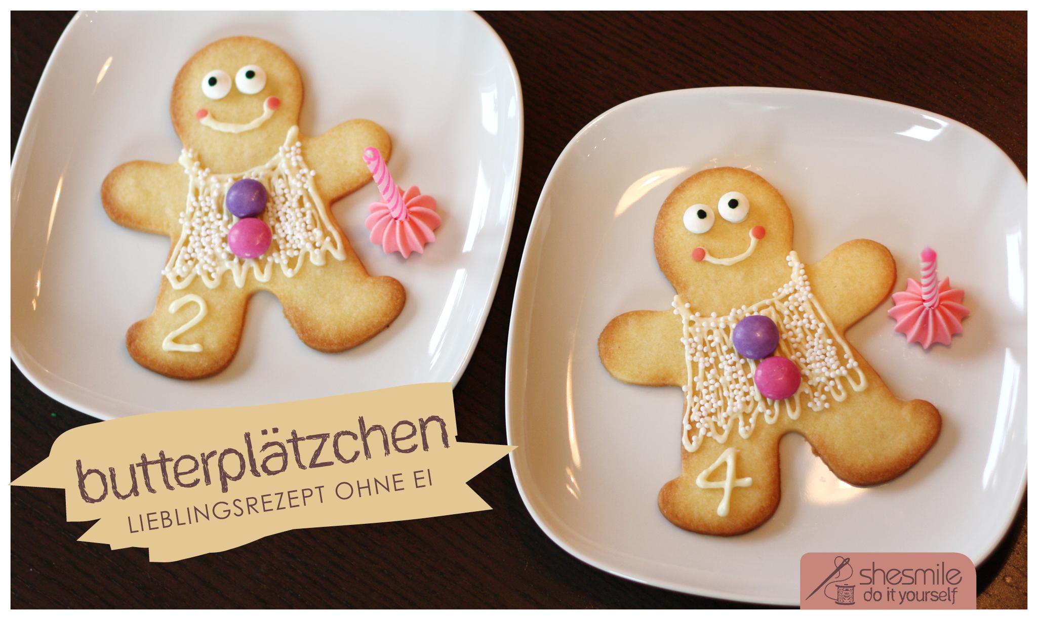Butterplatzchen Mein Lieblingsrezept Ohne Ei Shesmile