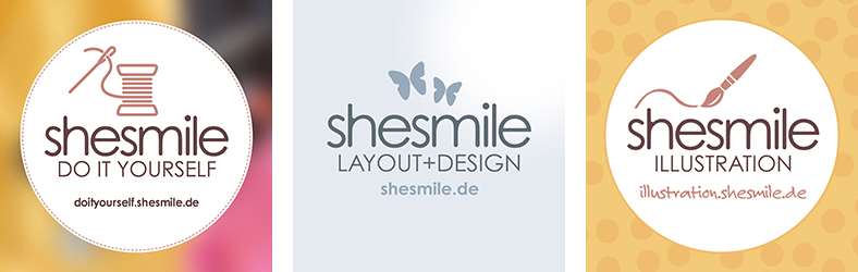 10 Jahre shesmile! Layout+Design, Do it Yourself und Illustration. Kreativ seit 2007.