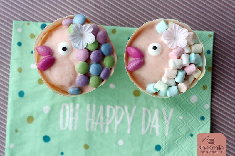 Fisch Muffins Und Fisch Kuchen Fur Die Taufe Meiner Nichte Shesmile