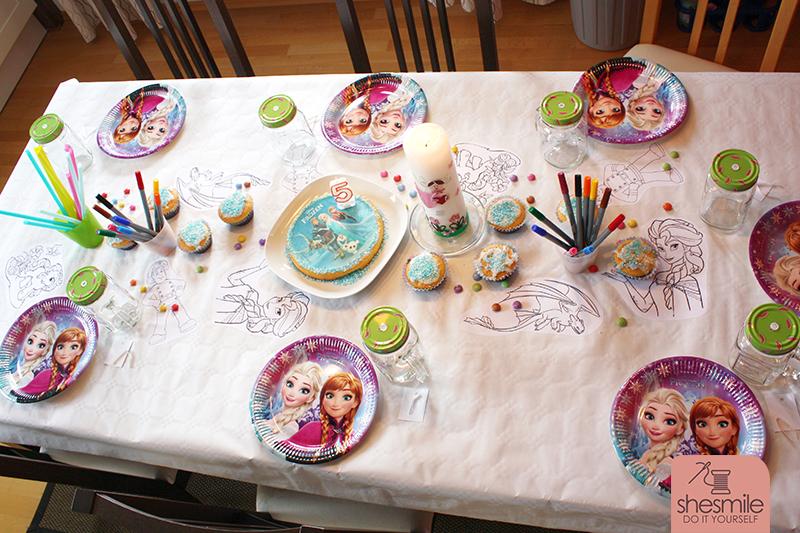 Elsablau Und Kreativ Unser 5 Kindergeburtstag Shesmile