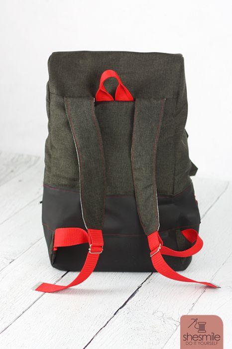 Ein Rucksack \