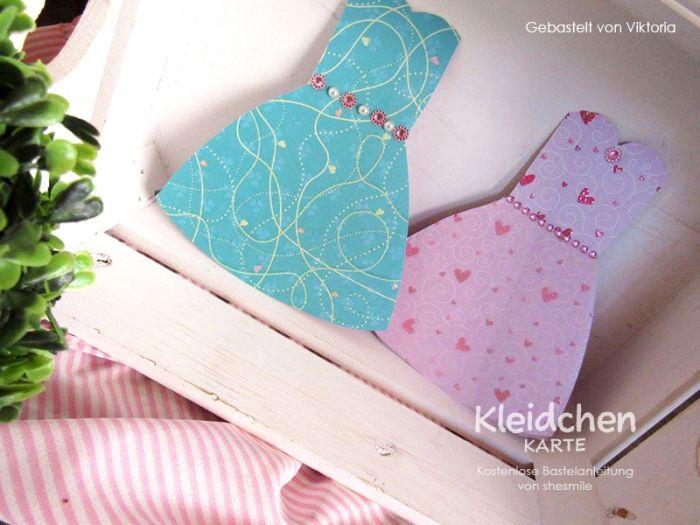 Kleidchen Karte Als Einladung, Tischkarten, Wimpelkette, Menükarten,  Einladungen Zur Taufe, Kommunion