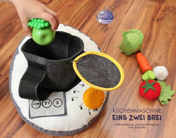kchenmaschine eins zwei brei eine nhanleitung und schnittmuster von shesmile kochen wie die - Kochen Mit Kuchenmaschine