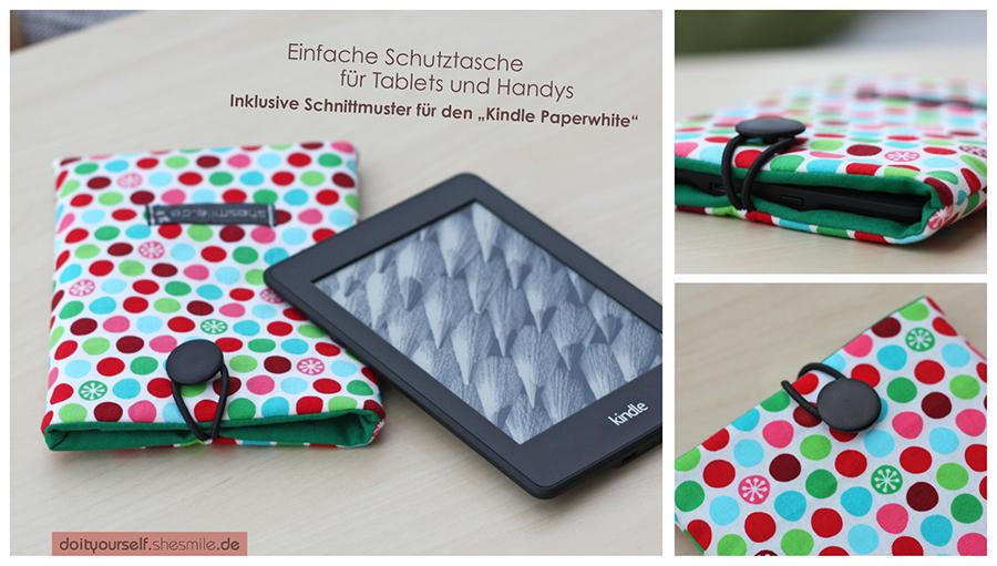 Schutztasche für Tablet oder Handy jetzt auch mit Schnittmuster ...