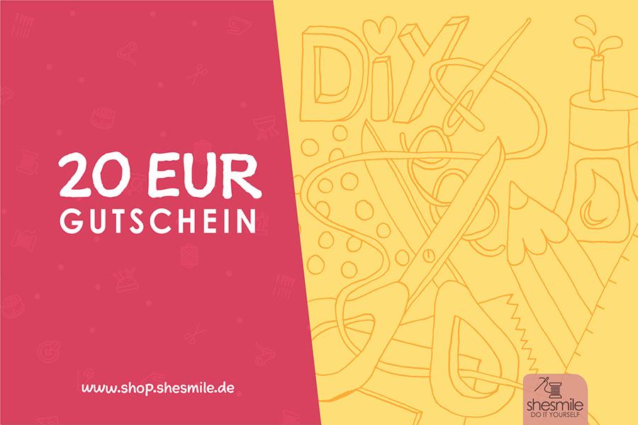 20 EUR Einkaufsgutschein
