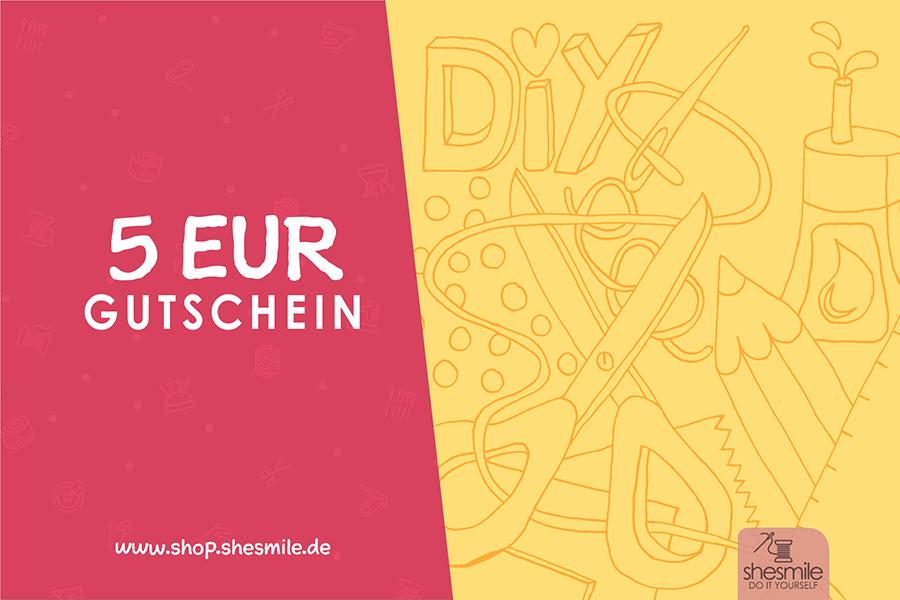 5 EUR Einkaufsgutschein