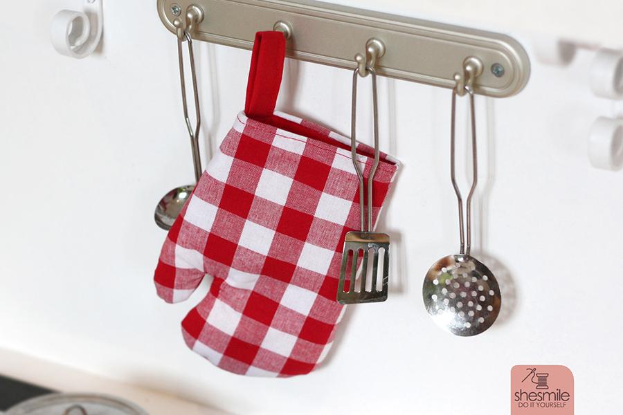 Ofenhandschuh für Kinder (Kostenloses Schnittmuster) - shesmile