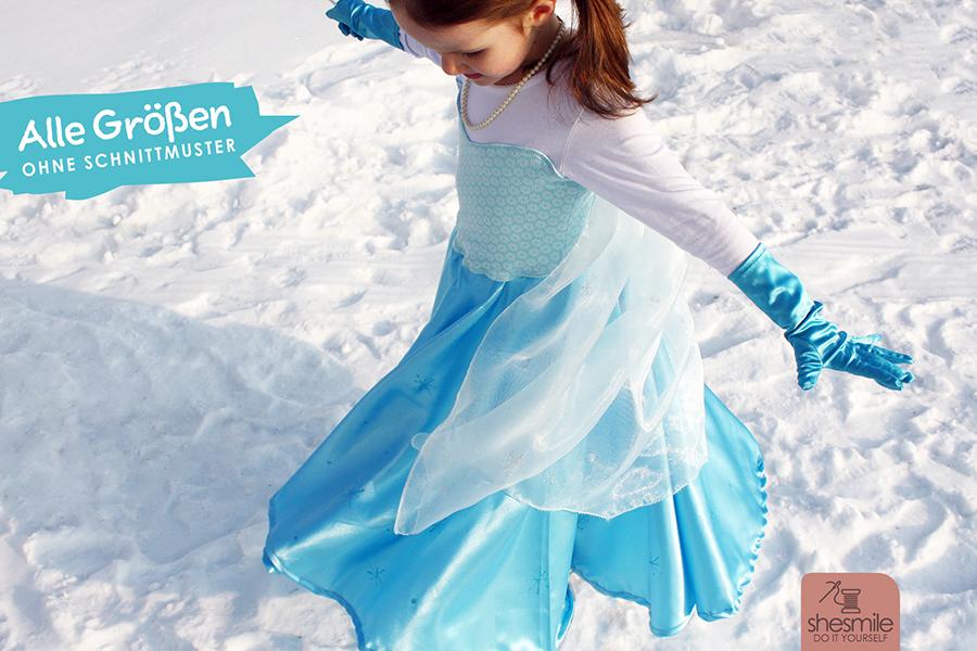 Kostüm Prinzessin (Upcycling-Nähanleitung für alle Größen)