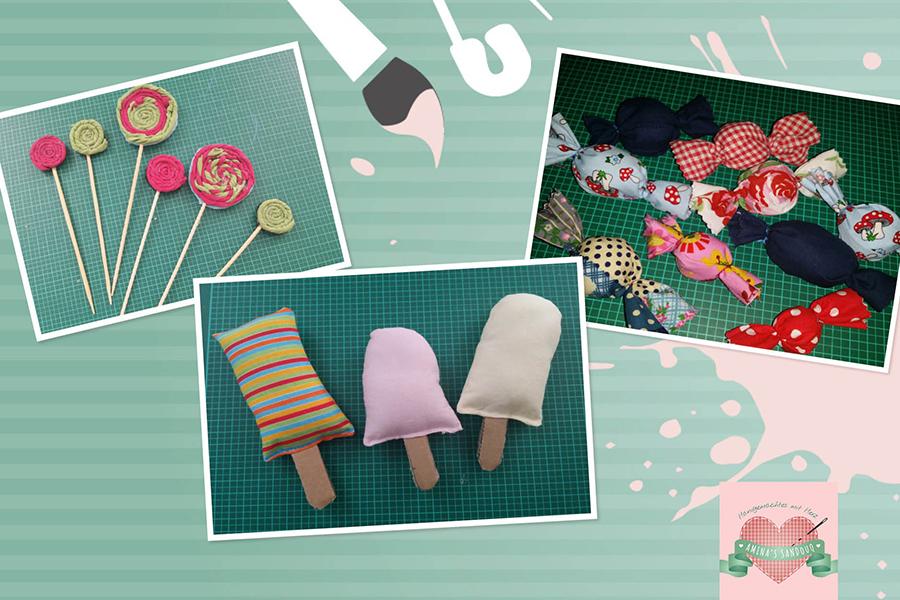 Süßigkeiten aus Stoff (Kostenlose Nähanleitung)