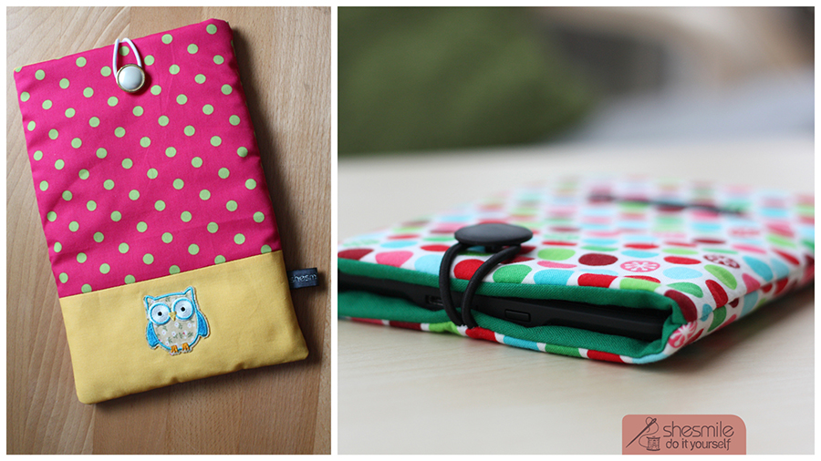 Schutztasche für Tablets, Handys oder Laptop (Nähanleitung & Schnittmuster)