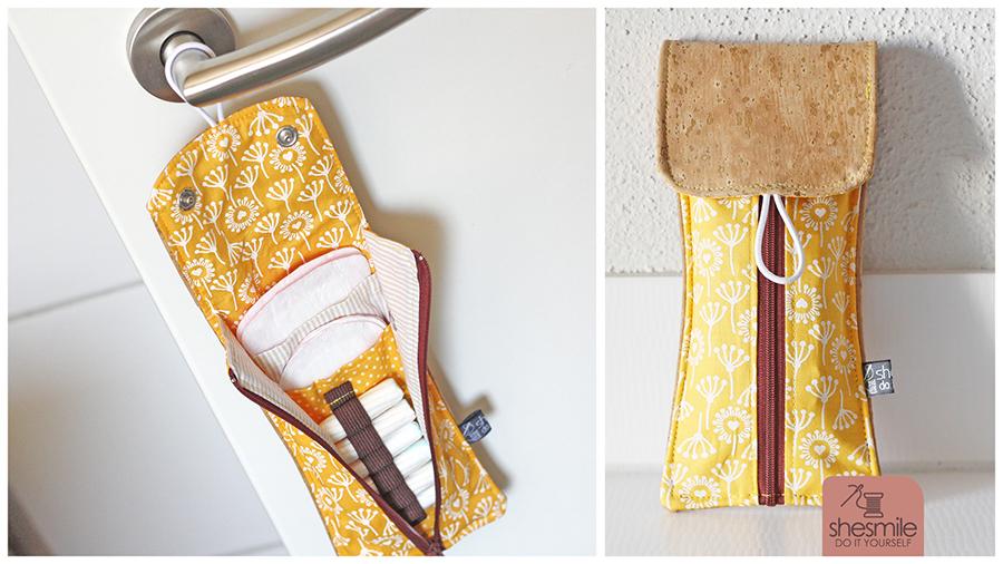 Täschchen für Slipeinlagen und Tampons Rosi (Nähanleitung & Schnittmuster)