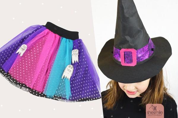 Hexen-Kostüm Annabelle (Nähanleitung und Schnittmuster)