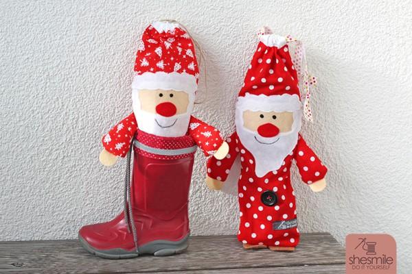 Nikolaus-Säckchen (Nähanleitung und Schnittmuster)