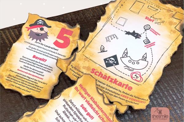 """Schatzsuche """"Piraten & Schaufeln"""" (Druckvorlagen und Spielideen)"""