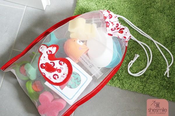Badespielzeug-Tasche aus Tüll (Kostenlose Nähanleitung)