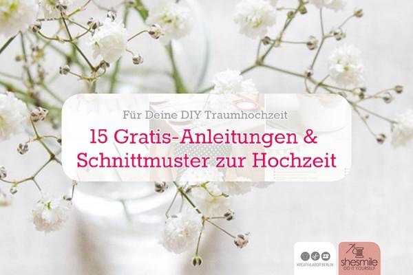 Deine DIY Traumhochzeit (Set mit 15 Freebooks)