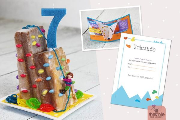 Bouldern und Klettern am Kindergeburtstag (Druckvorlagen und Ideensammlung)
