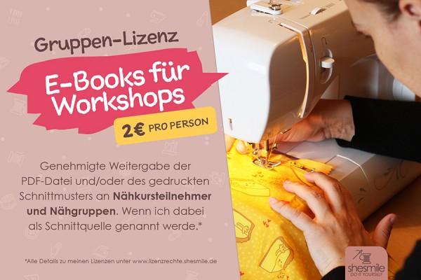 """Gruppen-Lizenz """"E-Books für Workshops"""" von shesmile"""