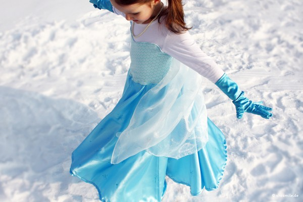 """Kostüm """"Prinzessin"""" (Nähanleitung für alle Größen)"""