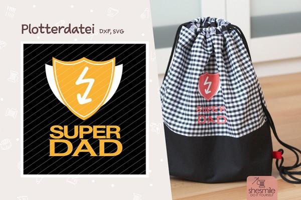 Super Dad (Kostenlose Plotterdatei)